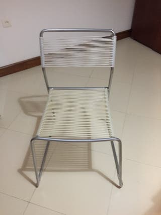 Mesa plegable y sillas Ikea