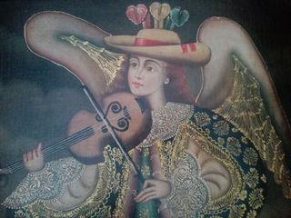 Pintura colonial cuzqueña
