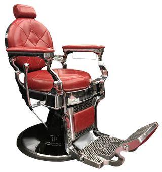 Nuevo Sillón Barbero rojo