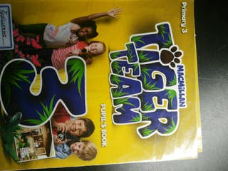 libro de texto 3º de primaria inglés Tiger team 3