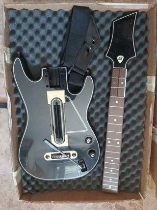 Guitar hero play 4 + guitarra + caja portátil