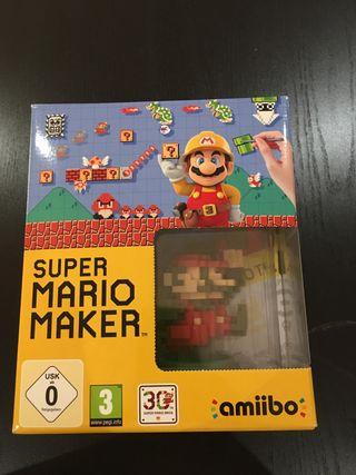 Game disc SÚPER MARIO MAKER + AMIIBO MARIO