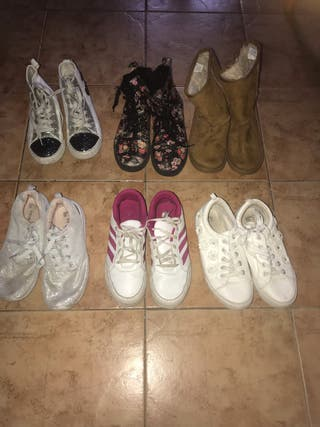 Lote Zapatos niña talla 37