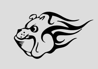 Pegatinas bulldog vinilos decorativos mascotas
