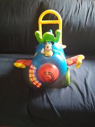 Correpasillos Avión Mickey