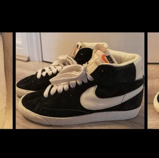 Nike Blazers, size 4