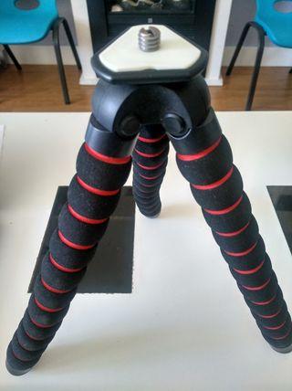 trípode para cámara