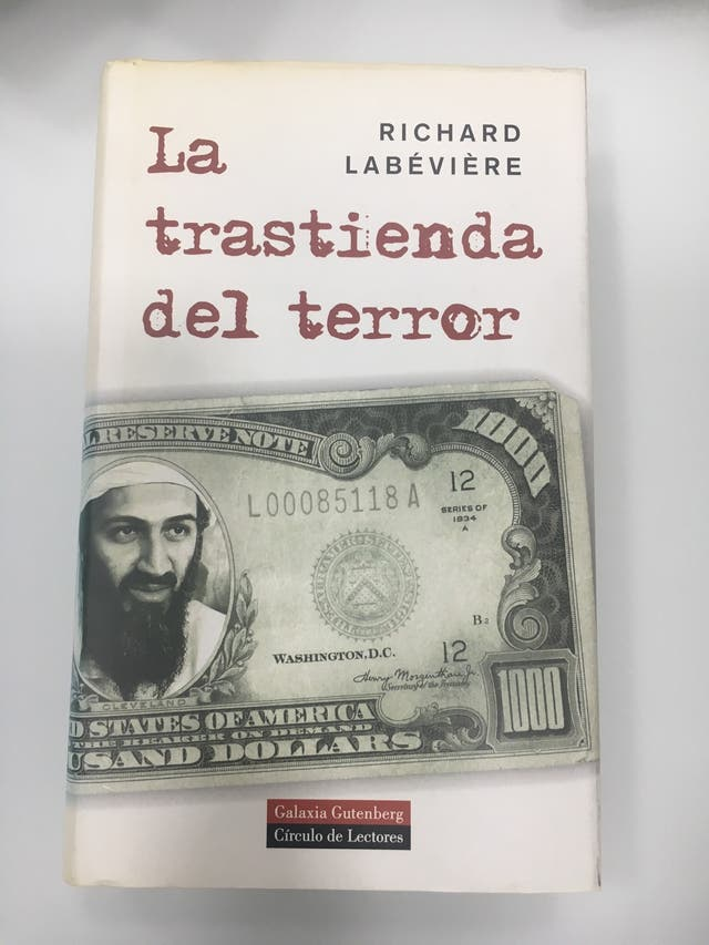 La trastienda del terror. Labévière. Novela