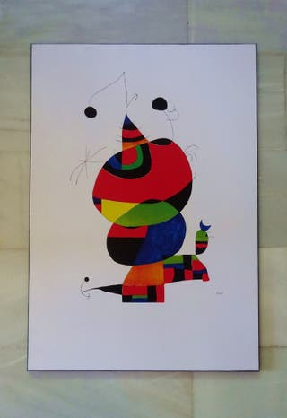 Cuadro Miró