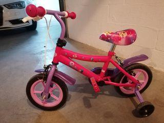 """bicicleta de 12"""" shimmer y shine"""