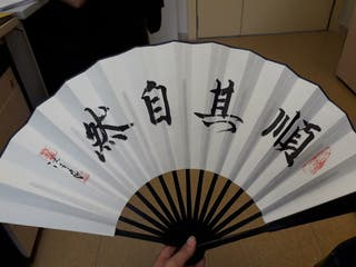Bonito abanico chino original