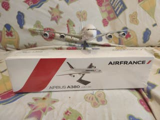 maqueta avion airbus A380 airfrance precintada