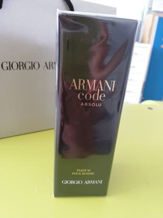 Perfume Giorgio Armani Code Absolu Nuevo
