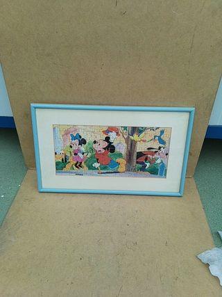 Cuadro puzzle Disney