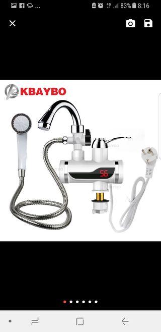 grifo calentador de agua eléctricos