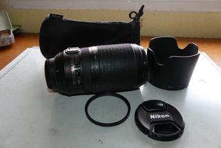 Objetivo Nikon 70-300 f 4,5-5.6