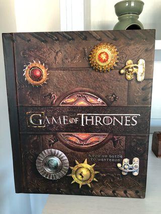 Libro pop-up Juego de tronos