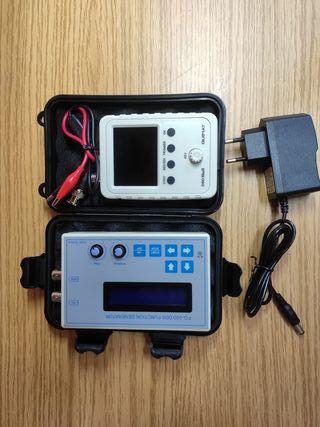 Conjunto Osciloscopio y generador de señales