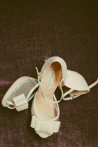 Zapatos de novia Ángel Alarcón