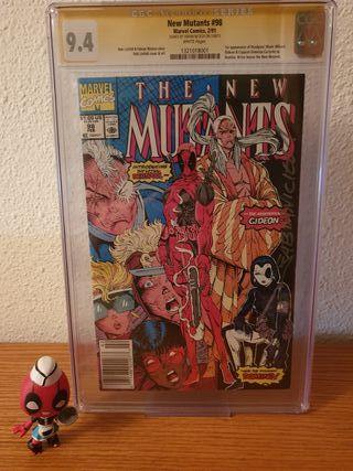 NEW MUTANTS #98 SUPER KEY BOOK DEADPOOL