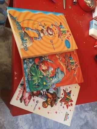 Set de libros Kika Superbruja