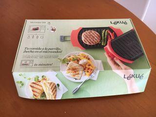 Lekue microwave grill
