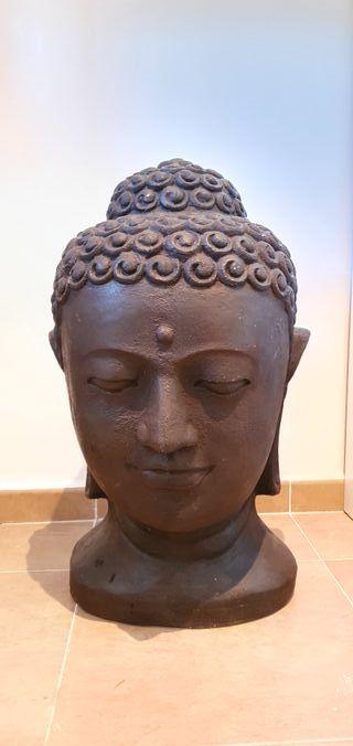 Figura Buddha resina 73 cms.