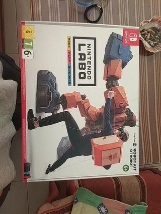 Nintendo labo (Robot)
