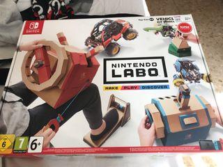 Nintendo LABO. Kit vehículo