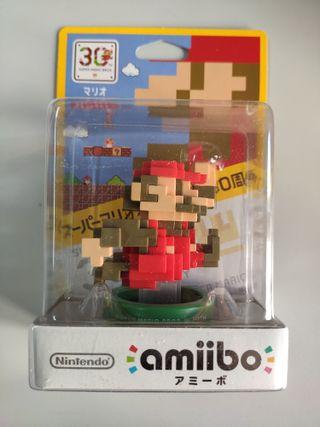 Amiibo Mario Clásico 30 Aniversario Imp. Japonesa