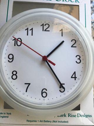 Reloj Ikea pared