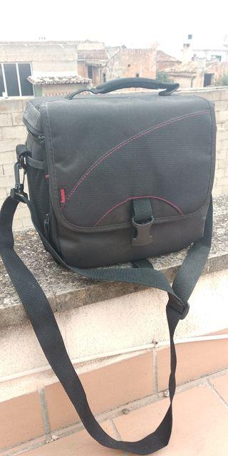 maleta cámara réflex