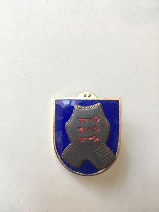 Distintivo militar protección de autoridades