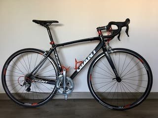 Bici carretera Giant TCR advance 1 ultegra 2014