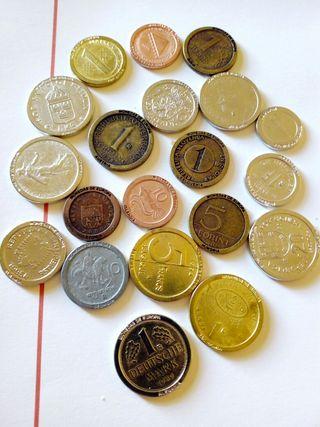 20 monedas COLECCIÓN monedas de europa