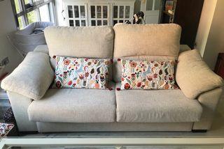 Sofá-cama colchón 140x190