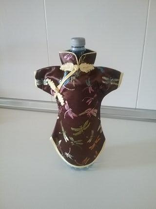 vestido para botellas a estrenar