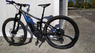 bicicleta cube elecrrica doble