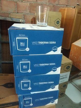 cajas de vasos de taberna a 5€