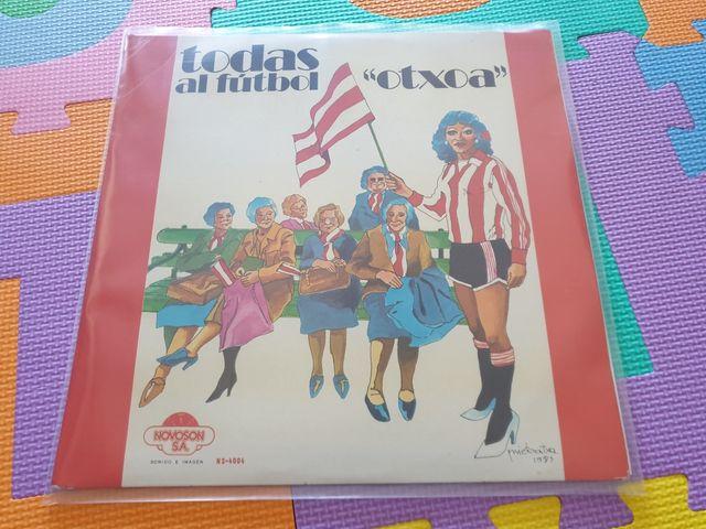 Vinilo 'Todas al Futbol'