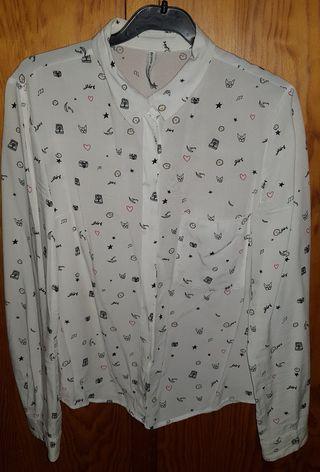 Camisa bershka talla S