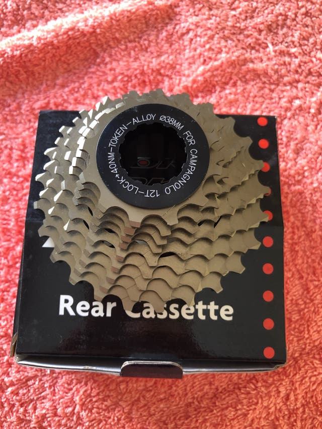 Cassete campagnolo 116 gramos NOS