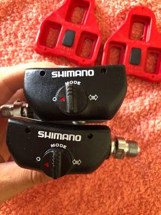 Pedales Shimano 600 NOS nuevos