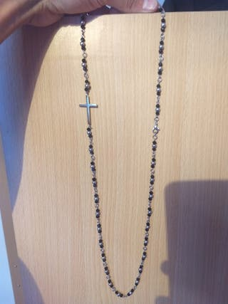 Collar rosario moderno