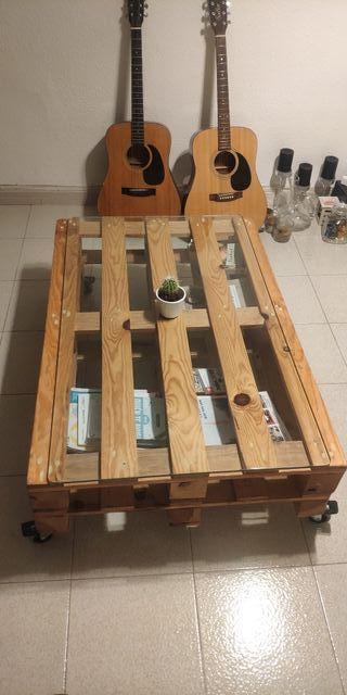 Mesa de madera de palets