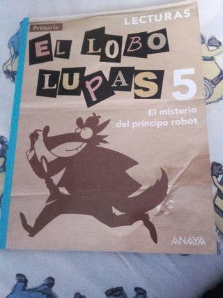 libro el lobo Lukas de 5 primaria