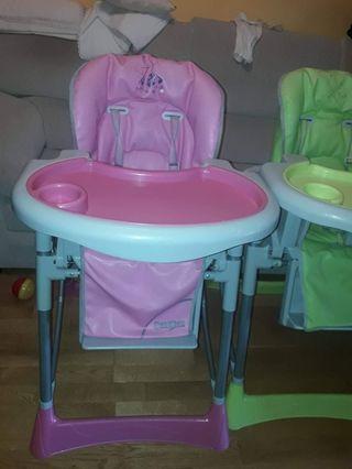 2 tronas bebes / trona