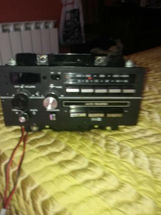 radio cassette coche Delco