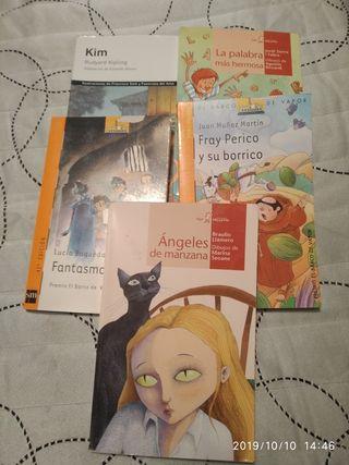 Varios libros de lectura. Ver fotos