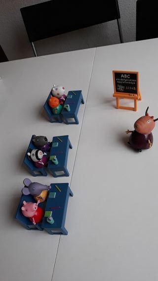 Clase escuela de peppa pig